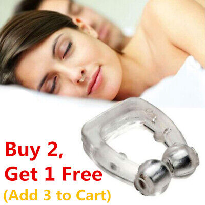 Silicone Clipple Magnetic Anti Snore Stop Snoring Nose Clips Sleeping Sleep Aid