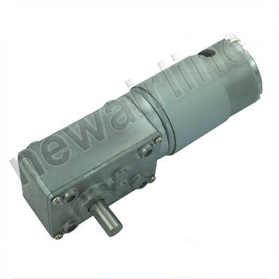 12v 24v A58sw555 High Torque Metal Gearbox Turbo Worm Speed Reduction Gear Motor