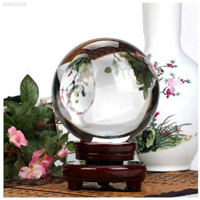 Ball Table Decorations (Large Crystal Ball 40mm Wedding Table Decorations Christmas Wood)