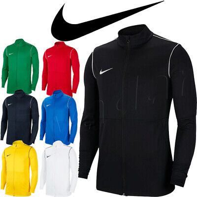Nike Park 20 Knit Track Jacket Top Men Training Football Gym Sport Activewear