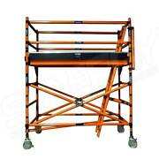 Fibreglass Mobile Scaffold 2.2m Platform (Double Width) Revesby Bankstown Area Preview