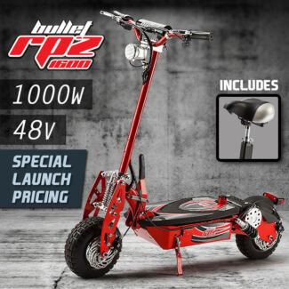 RPZ1600 / 1000W Electric Scooter 48V- Off Road Seven Hills Blacktown Area Preview
