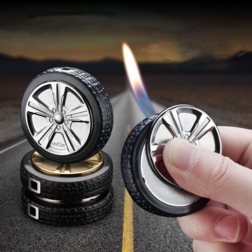 Side cut Gas Lighter Turbo Lighters Smoking Accessories Tire