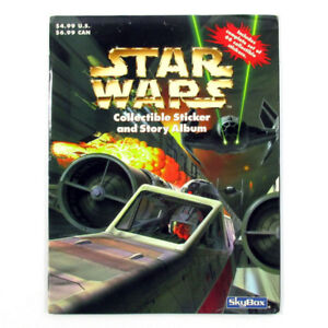 1996 PANINI Star Wars Collectible Sticker and Story Album SET 66