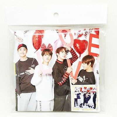 K Pop Star Goods BTS Bangtan Boys Handkerchief Concert Towel Korea Mini Slogan