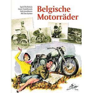 Belgische Motorräder Roller Seitenwagen FN Fellmo Gillet Sarolea Modelle Buch