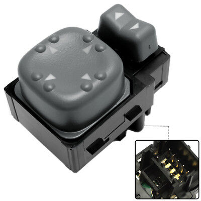 Power Side Mirror Switch for GMC Jimmy S-15 Sonoma 1998-2000 2001 2002