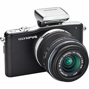 Olympus EPM1 12 mp mirrorless camera with 14-42mm lens