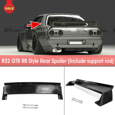 For Nissan Skyline GTR R32 RockBunny RB Style FRP Rear Trunk Spoiler Wing Parts for sale  China