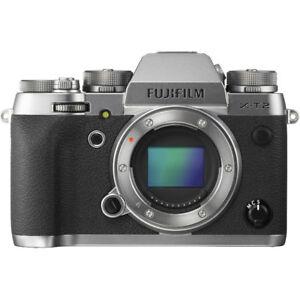 Fujifilm X-T2 boîtier argent Graphite.