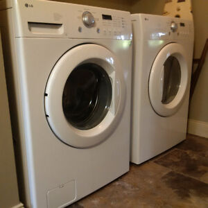 LG Washer and Dryer - Front Load - Ultra High Capacity