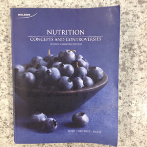 Nutrition Concepts and Controversies Second Canadian Edition