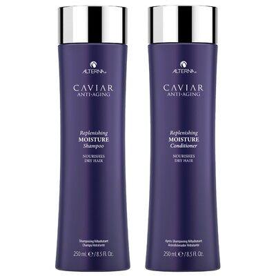 Alterna Caviar Anti-Aging Replenishing Moisture Shampoo & Conditioner 250ml x 2