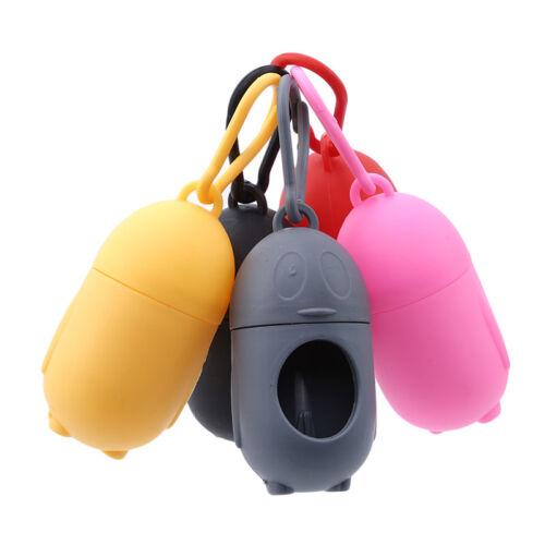 Waste Bag Pet Dog Set With Poop Bags Dispenser Carrier Holde