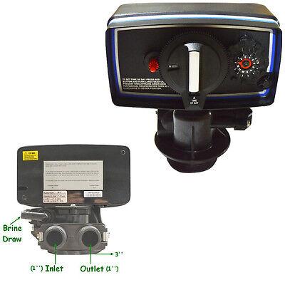 Clock Control Valve 110V For Water Filter Softener Resin Tank 9''-11'' Diameter