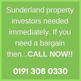 Investors needed! HUGE property deals in Sunderland..DONT MISS OUT!