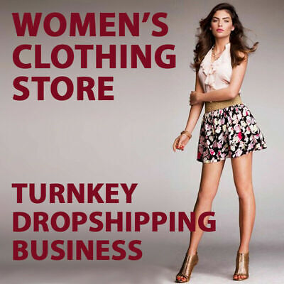 Womens Clothing Dropshipping Store - Turnkey Business Website