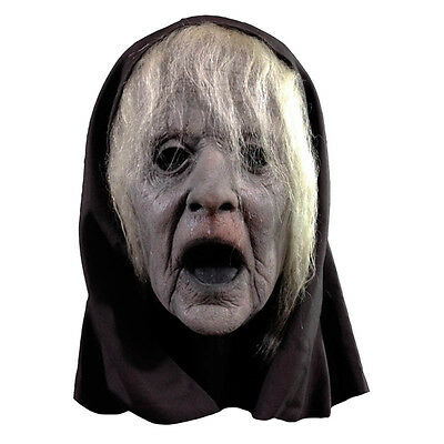 Wraith Witch Grey Hag Old Screaming Woman Adult Full Head Latex Halloween Mask](Old Woman Halloween Mask)