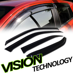 Rain/Wind Guard Vent Shade Deflector Window Visor 96-00 Civic EJ/EK 4D/4Dr Sedan