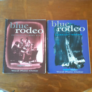 Blue Rodeo Songbook Volumes 1 and 2