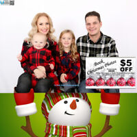 Booking Christmas Family Photo@U Red Deer Photography