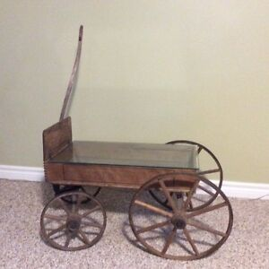 "Antique ""Daisy"" Brand wagon"