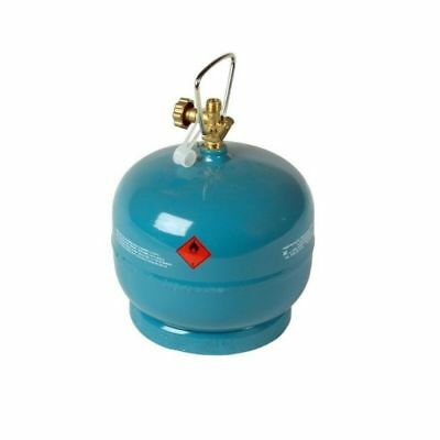 Leere befüllbare Gasflasche 2 kg / 4,8L Camping Grill Boot Propan Butan Gas