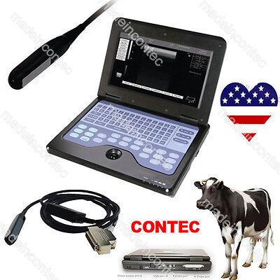 Vet Veterinary Ultrasound Scanner Cms600p27.5mhz Rectal Linear Probe Contec Usa