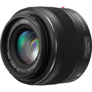 25mm F1.4 Leica Panasonic M43 Brand New with Filter (50mm)
