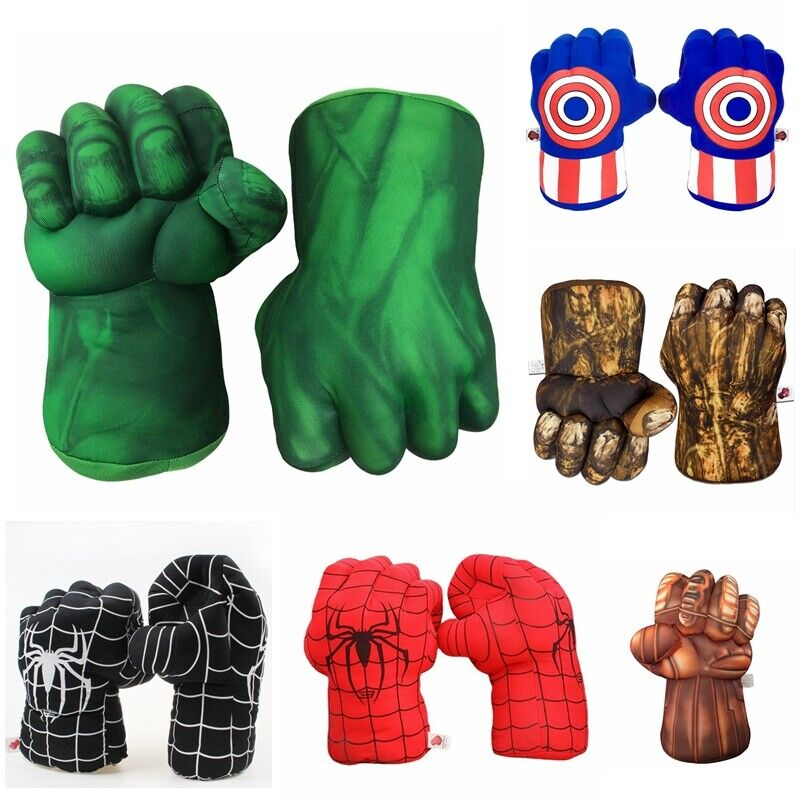 Kinder Cosplay Boxhandschuhe Thanos Spiderman Hulk Handschuhe Spielzeug Geschenk