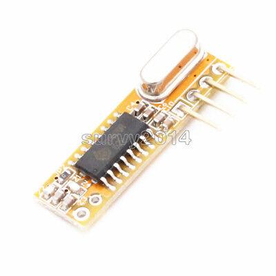 5pcs Super-heterodyne Rf Wireless Receivers Module 433mhz X-rxb12
