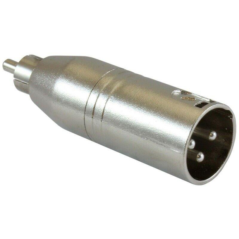 Soundsation SADA011-1 Adapter XLR Male Rca Male