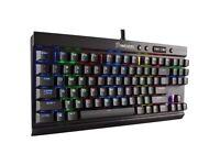 Corsair K65 gaming RGB keyboard Cherry mx reds
