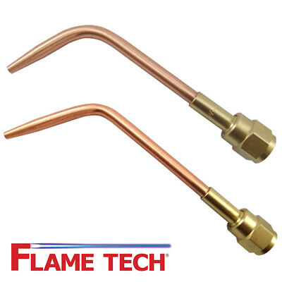 Flame Tech W-1 Style Medium Duty Complete Welding Brazing Tips Victor Style
