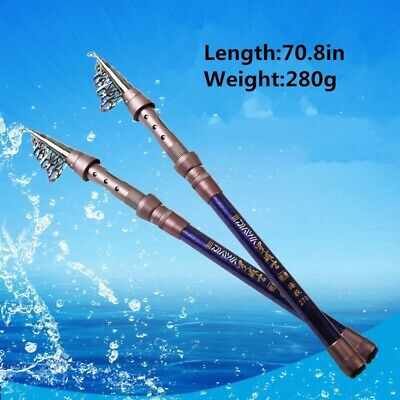 AOTSURI 2.1 M Power Spinning Rod Carbon Fiber Ceramic Fishing Pole Cork Grip