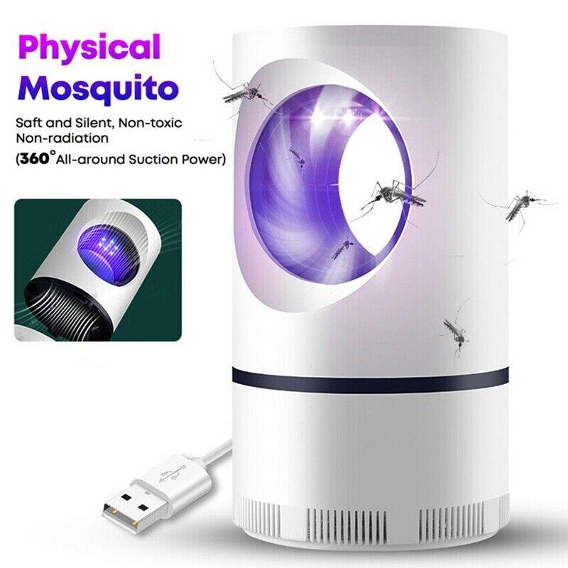Advanced Mosquito Exterminator – Suction Fan, No Zapper, Child Safe !!!