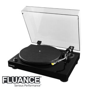NEW FLUANCE RT80 HIGH FIDELITY VINYL TURNTABLE RECORD PLAYER WIT