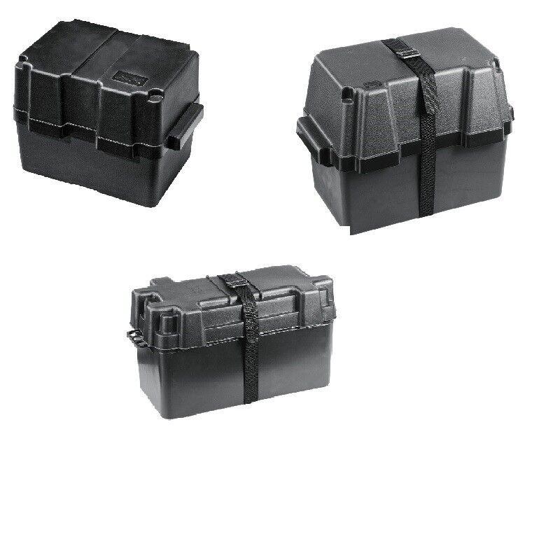 Batteriebox Batteriekasten für 80 Ah oder 100 Ah Batterie Boot Camping Freizeit