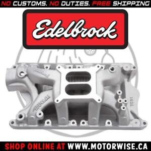 Edelbrock RPM Air-Gap Intake Manifold 7581 | Ford 351-W Windsor | Shop & Order Online at www.motorwise.ca