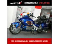 2001 'Y' Honda GL1800 Goldwing. Chrome Kit, Spoiler & Much More. £7,495