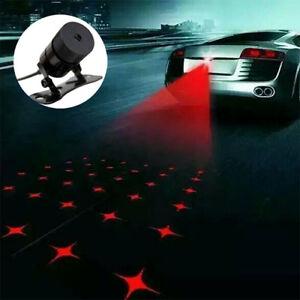 led laser rouge brouillard feu arri re auto voiture lampe avertie anti collision ebay. Black Bedroom Furniture Sets. Home Design Ideas