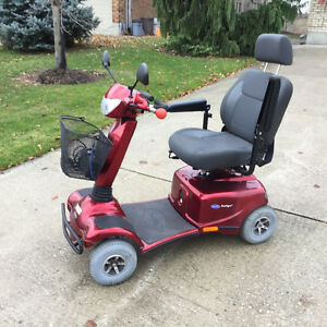 Invacare Auriga mobility scooter heavy duty