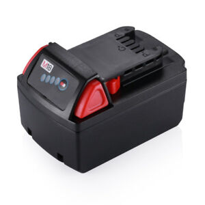 New 18V 5.0Ah Lithium-ion Replacement Battery for Milwaukee