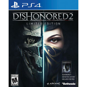 Dishonored 2 Limited Edition - PS4 - New / Sealed