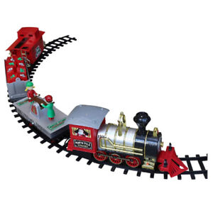 NEW: North Pole Junction 34 pieces Christmas Train Set - $55