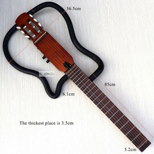 Silent classical 6-string nylon string ancient electric guitar