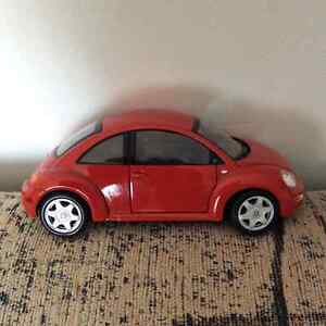 Miniature Red Beetle Model Car