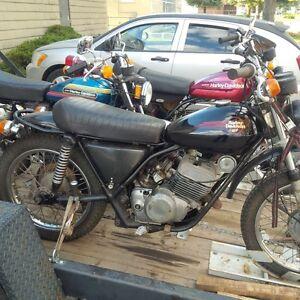 +20 HARLEYS mid 1970's 2 stroke motorcycles