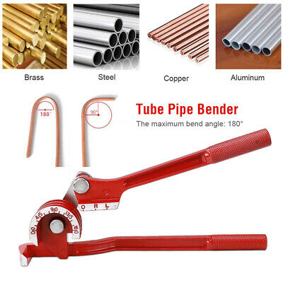 180 Handheld Pipe Bender Heavy Duty Tube Bending Tool 6810mm Plumbing Copper