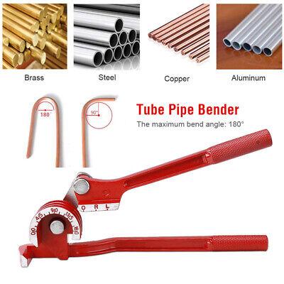 180° Handheld Pipe Bender Heavy Duty Tube Bending Tool 6/8/10mm Plumbing Copper